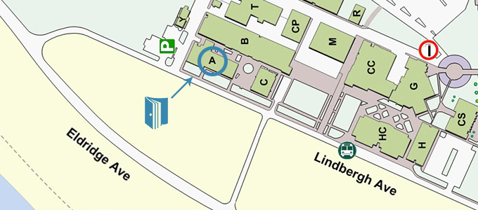 BTC Campus Map