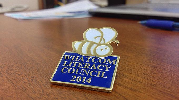 Trivia Bee 2014 Pin