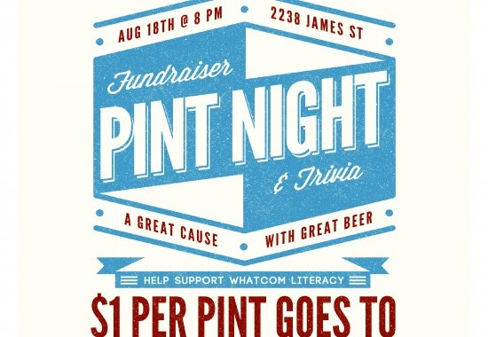 Kulshan Brewing Co. Pint Night – Whatcom Literacy Council Fundraiser