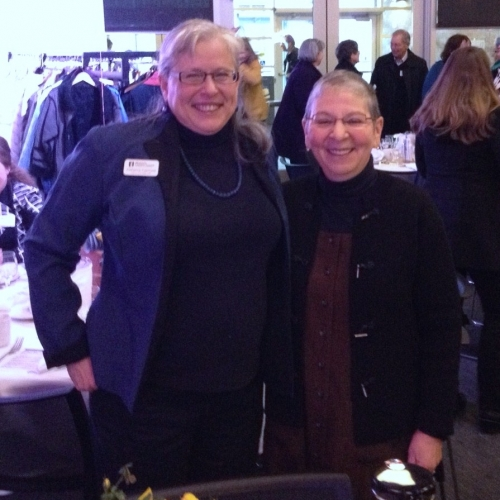 Katherine Freimund And Nancy Pearl