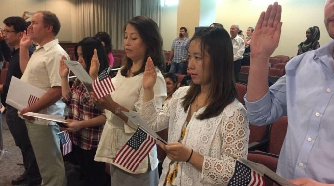 Congratulations To Two New US Citizens!