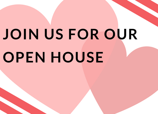 Join Us For Our February Open House!